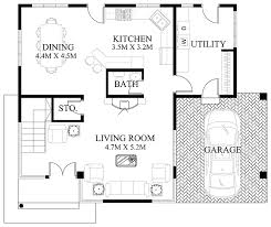 small home designs floor plans modern house design 2012006 eplans store