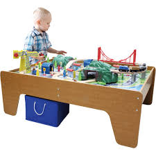 wooden activity table for 50 activity table train set children 039 s wooden toys toy play