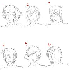 hhort haircut sketches for man anime male hair style 1 by ruuruu chan on deviantart