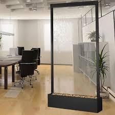 10 u0027 grande black onyx with clear glass floor fountain