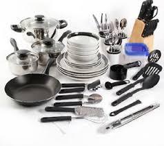 home pans home kitchen cookware set pots pans dishes flatware utensils