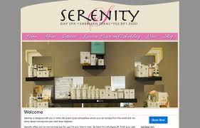 matthew l johnson web developer graphic designer projects serenity day spa