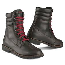 motorcycle boots uk stylmartin rocket waterproof boot brown urban rider london
