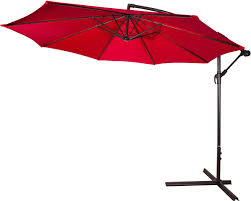 cantilever offset 10ft patio umbrella by trademark innovations