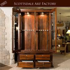 Display Cabinet With Lighting Wood Gun Display Cabinet Roselawnlutheran