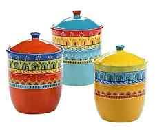 yellow kitchen canisters decorative kitchen canisters ebay