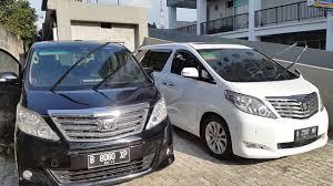 kereta vellfire warna hitam video mobil alphard hitam dan warna putih untuk sewa harian di