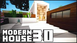 minecraft modern house 30 youtube