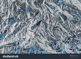 blue foil wrapping paper crumpled blue foil wrapping paper stock photo 308914148