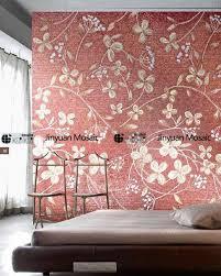 modern 3d wall art decorative handmade ceramic tile 3d with
