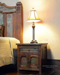 Tuscan Furniture Collection Copper Inlay Bedroom Furniture