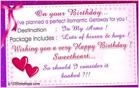 emotional e card birthday wishes for girlfriend nicewishes
