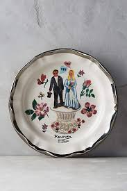 and groom plates 32 best plates images on anthropology home kitchens