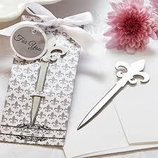 fleur de lis letter opener fleur de lis letter opener fleur de lis wedding and party favors