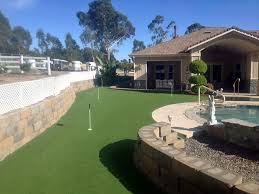 Putting Green Backyard by Synthetic Lawn Morada California Best Indoor Putting Green Backyard