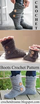 s knit boots size 12 25 unique crochet boots ideas on diy crochet slippers