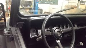 jeep wrangler yj dashboard 1995 jeep wrangler yj bedlined inside and out youtube