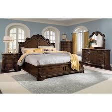 monticello bedroom set monticello chest pecan value city furniture and mattresses