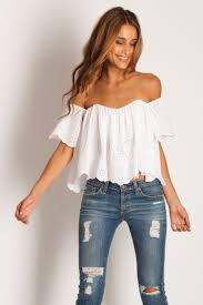 shoulder blouse how to wear the must shoulder top this summer