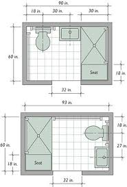 bathroom floor plan ideas best 25 small bathroom layout ideas on small