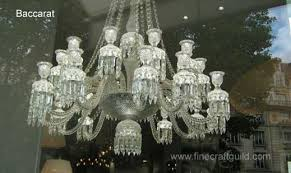 Bacarat Chandelier French Chandeliers From Baccarat