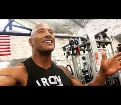 the rock would like to welcome you to get crazy in the