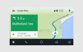 Here Maps Android Android Auto App Quick Start Guide Kia Technology