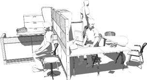 hauteur standard bureau ordinateur ergonomie au bureau pour une bonne posture de travail