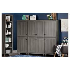 hopedale 2 door narrow storage cabinet white wash south