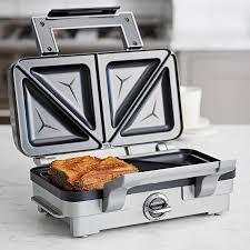 Which Sandwich Toaster Cuisinart Overstuffed Toastie U0026 Sandwich Maker Grsm1u