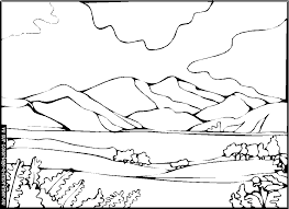 33 dessins de coloriage paysage à imprimer sur LaGuerchecom  Page 3