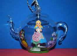in glass teapot ornament a disney parks
