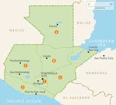 Interactive Map Of Africa by Map Of Guetemala Guatemala Regions Rough Guides Rough Guides