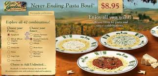 Olive Garden Never Ending Pasta Bowl Is Back - olive garden copycat recipes neverending pasta