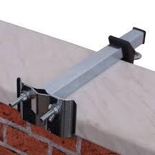 sonnenschirmhalter balkon sonnenschirmhalter für mauerbrüstung verzinkt sichtschutz welt de