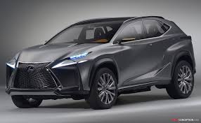 lexus suv concept lf nx concept hints at potential compact lexus suv cool cars
