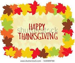 thanksgiving border vectors free vector stock