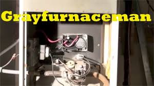 how to light a gas furnace heater how to relight the pilot on the gas furnace youtube