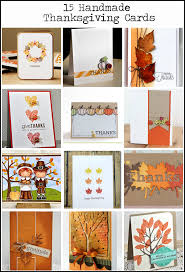 15 awesome handmade thanksgiving card ideas