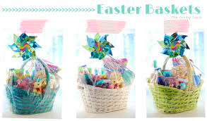 kids easter baskets kid s easter baskets filled with items from cost plus world