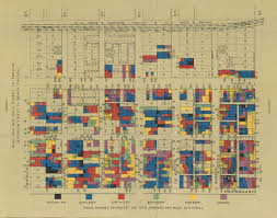 Chicago Walking Map by These Early Infographics Illustrated The Plight Of America U0027s Poor