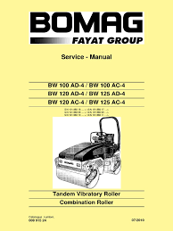 manual de servicio bw 120 ad 4 pdf electrical connector
