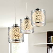 Bathroom Pendant Light Fixtures Metal 3 Light Elegant Pendant Lights In Bathroom
