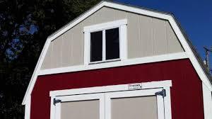 Red Barn Plans Tuff Shed Barn Walkthru Youtube
