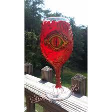 Unique Wine Glasses by Unique Wine Glass Dragon Eye Wine Glass Polymer Clay