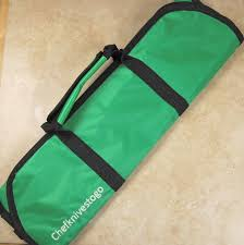 kitchen knives to go chefknivestogo 8pc knife bag green