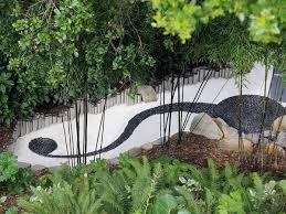 an intriguing contemporary zen garden from zeterre landscape