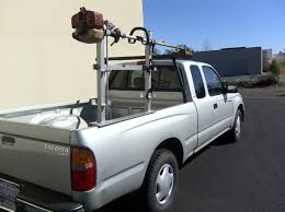 homemade pickup truck rack it truck racks custom trimmer rack is a handy helper