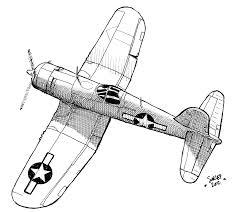 drawn war plane pencil and in color drawn war plane