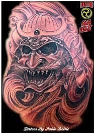 japanese mask tattoo design tattooshunter com